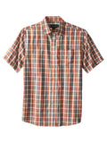 Pendleton Cotton Blend Short Sleeve Tabor Herringb