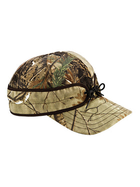 Stormy Kromer Cotton Blend Field Caps in Real Tree
