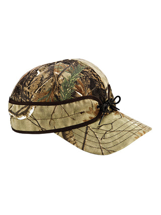 Stormy Kromer Cotton Blend Field Caps in Real Tree Camo - 50200-RTR