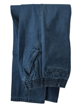 Lord Daniel Full Elastic Waist Jeans for Men - Big