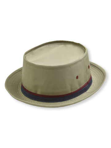 Dorfman Pacific Roll Up Bucket Hat in TAN - 830KS-
