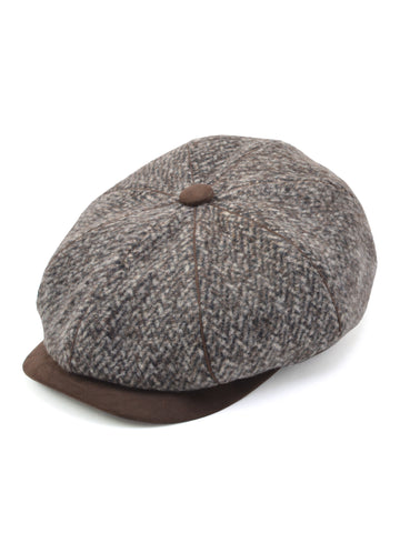 Dobbs Polyester Overton Men's Cap in Brown