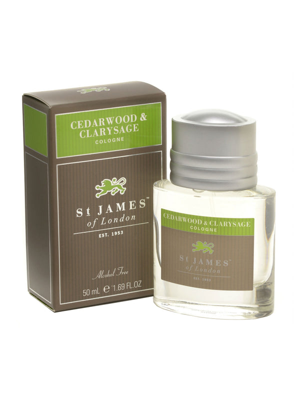 St James of London Cedarwood and Clarysage Cologne
