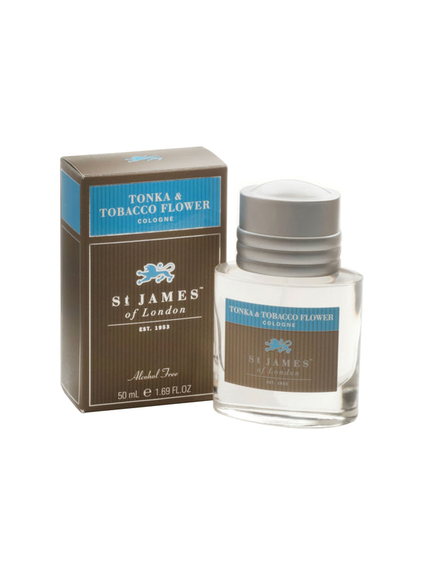 St James of London Tonka and Tobacco Flower Shave Cologne