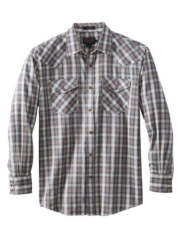 Pendleton Long Sleeve Cotton Blend Frontier Herrin