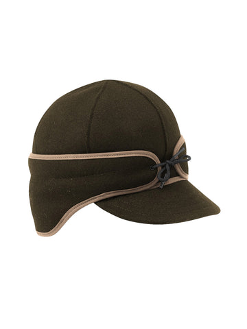 Stormy Kromer Rancher Caps With Ear Band in Olive