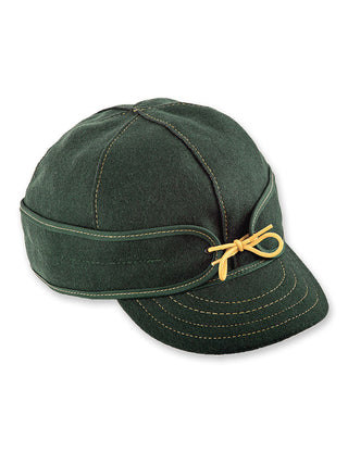 Stormy Kromer Benchwarmer Caps in Green & Gold - 50450