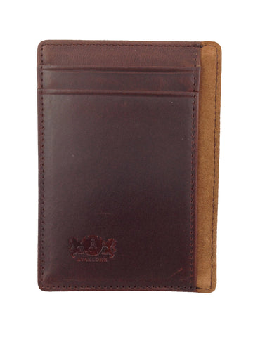 Avallone Antique Leather Money Clip - AV004