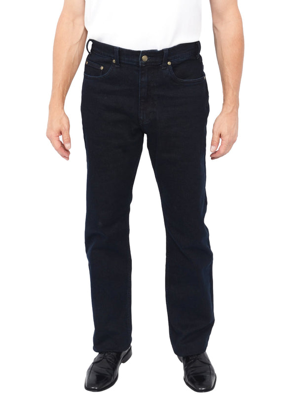 Grand River Stretch Traditional Fit Men's Jeans in Midnight - Regular Sizes