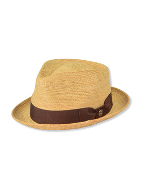Stetson '42nd Street' Pinch Front Straw Hats TS42N