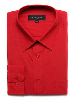 Marquis Men's Cotton Blend Dress Shirts - Regular