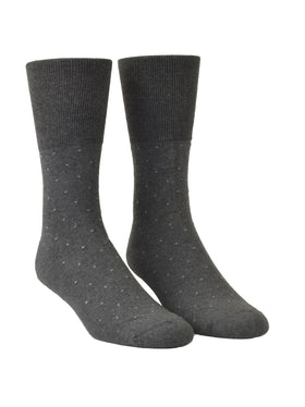 Euro Choice Pin Dot Cushion Sole Socks - Regular S