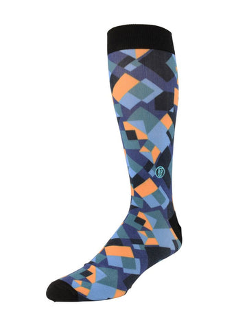 "Tall Order ""The Richie"" Men's Socks in Blue - Size"