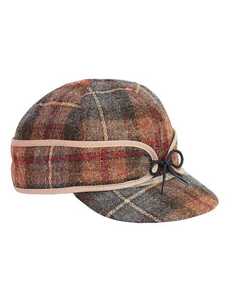 Origional Stormy Kromer Caps With Ear Band in Partridge Plaid - 50010-PTG