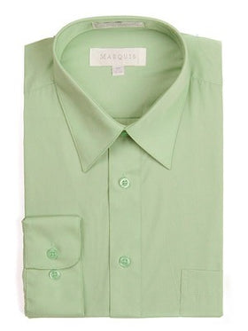 Marquis Men's Cotton Blend Dress Shirts - Tall Man
