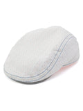 Stacy Adams 100% Cotton Ivy Cap in White