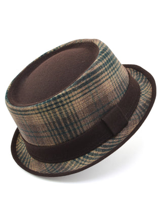 Henschel Men's Wool Blend Fashion Porkpie Hats