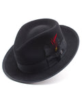 Stetson 100% Wool Felt 'Whippet' Hats in BLACK