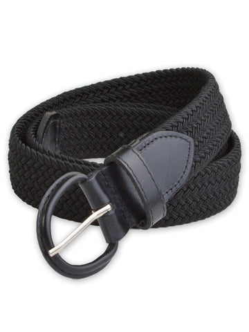 Florsheim Stretch Casual Belt in Black 5-2087