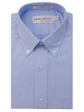 Roberto Collection Oxford Shirts in Blue