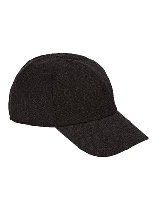Stormy Kromer 'The Curveball' 100% Wool Caps in Charcoal Grey - 50180