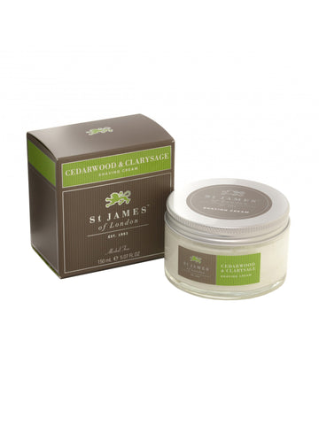 St James of London Cedarwood and Clarysage Shave C