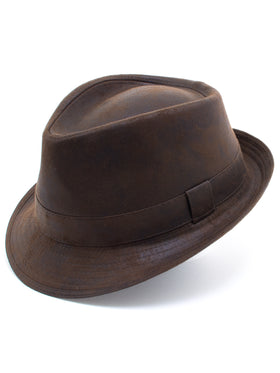 Dobbs 100% Polyester Urban Hats in Brown