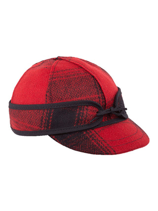 Stormy Kromer Lil' Kromer Caps Ages 0-24 Months in Red / Black Plaid - 50220-RDB