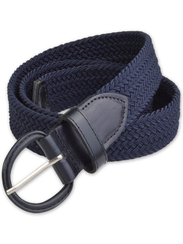 Florsheim Stretch Casual Belt in Navy 5-2082