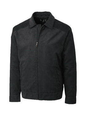 Cutter & Buck Roosevelt Zip Front Jackets in Black