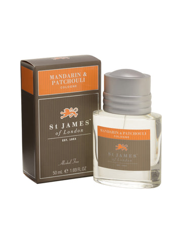 St James of London Mandarine and Patchouli Cologne