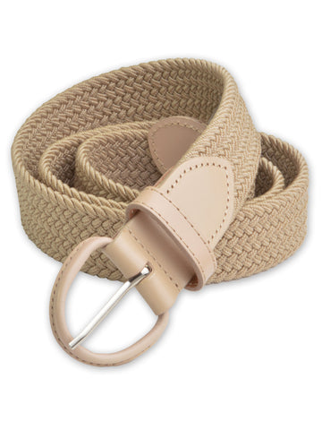 Florsheim Stretch Casual Belt in Khaki 5-2086