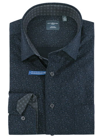 Leo Chevalier 100% Cotton Non-Iron Sport Shirts -