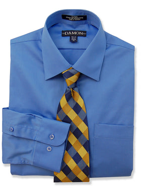 Damon Sateen Comfort Stretch Tailored Shirts 10005
