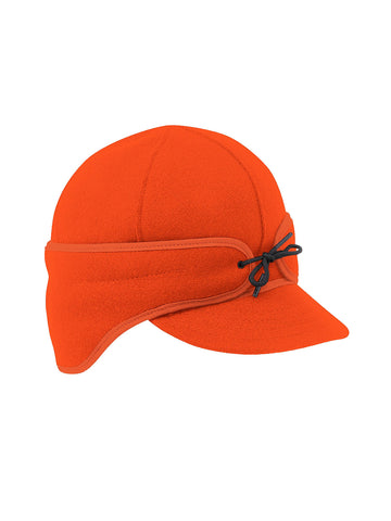 Stormy Kromer Rancher Caps With Ear Band in Orange