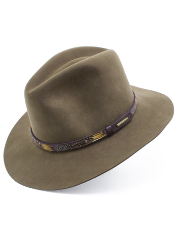 Stetson Fur & Wool Felt 'Jackson' Hat in BRONZE