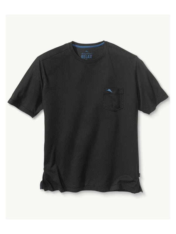 Tommy Bahama Bali Skyline Tee in Black - Tall Sizes