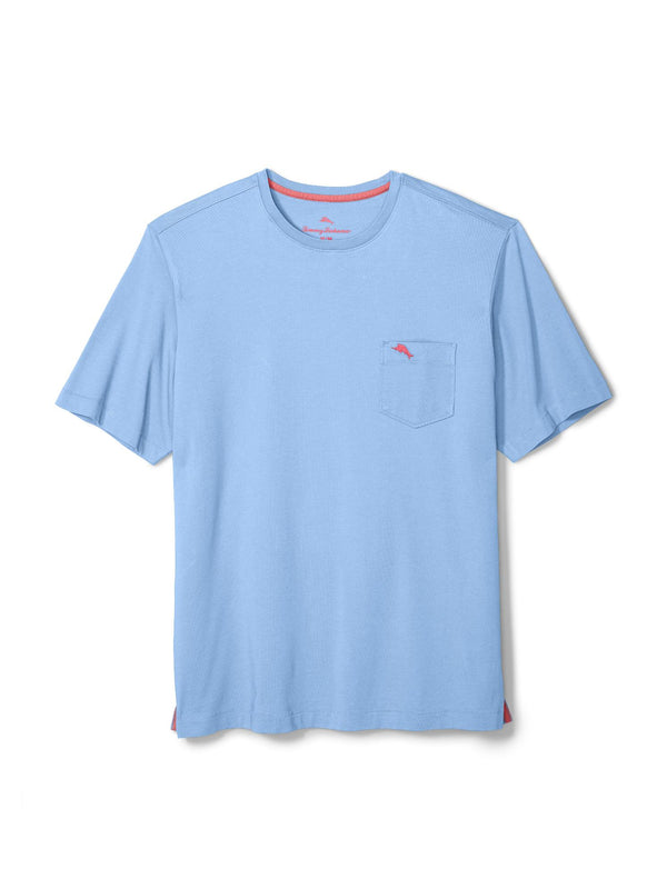 Tommy Bahama Bali Skyline Tee in Light Sky - Tall Sizes