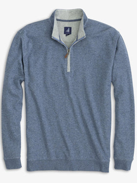 Johnnie-O Sully 1/4 Zip Pullover in Adrift