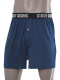Stacy Adams Comfortblend Boxer Shorts in Navy - Re