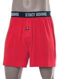 Stacy Adams Comfortblend Boxer Shorts in Red - Big