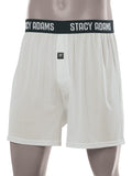 Stacy Adams Comfortblend Boxer Shorts in Silver -