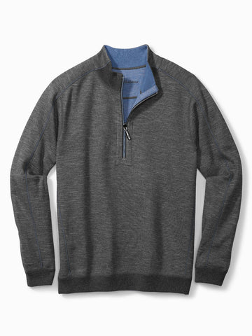 Tommy Bahama New Flipsider Half Zip Sweater