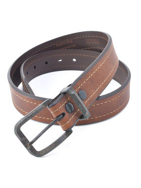 Lejon Granada Full Grain Bison Belts in Brown - Re