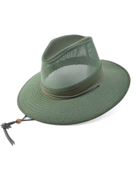 Henschel Packable Aussie Men's Hats in Green