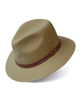 Dobbs Cotton Blend Gable Men's Hats in British Tan