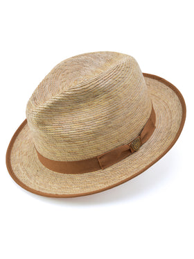 Dobbs Mateo Palm Straw Hat