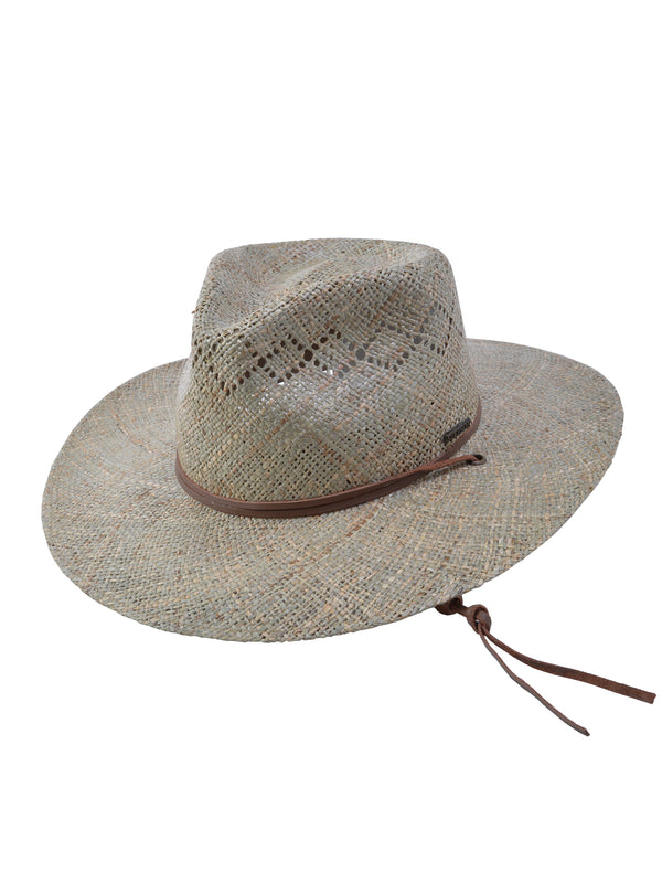 Stetson Terrace Fine Vented Seagrass Straw Hat