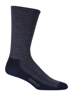 Wigwam Merino Airlite Sock in Navy Heather