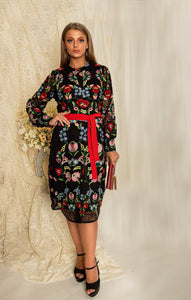 The Royal Lacy Shirt Dres